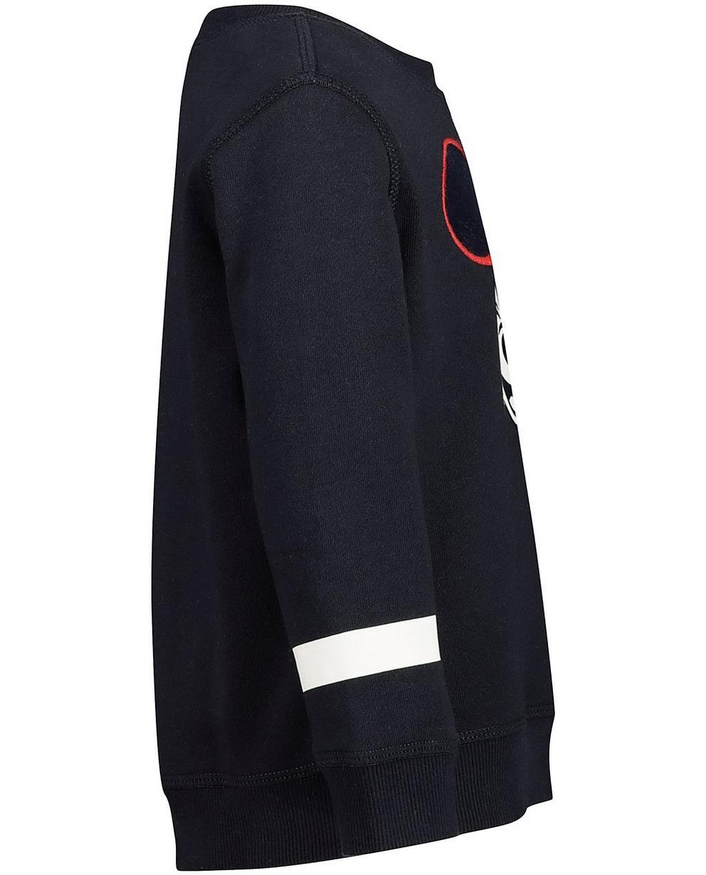 Sweater - Navy - Sweater mit Print, 2-7 Jahre